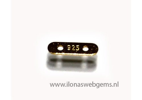 Vermeil Verteiler 2 rij ca. 8x2x0.5mm