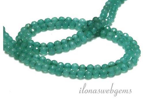 Jade beads facet round app. 4.5mm
