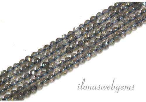 Labradorite beads mini about 3mm A quality