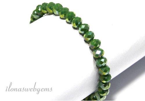 Swarovski crystal bracelet style app. 6x5mm