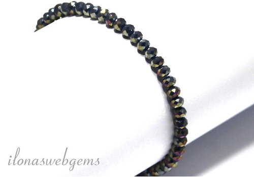 Swarovski crystal bracelet style faceted beads