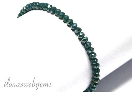 Armbandje Swarovski style facet kralen kristal