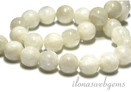 (Rainbow) moonstone beads approx 14mm