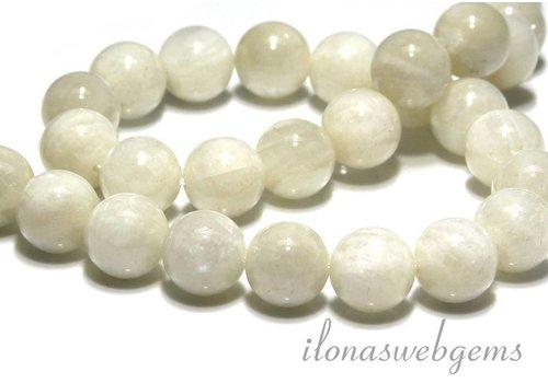 (Regenbogen) Mondstein Perlen ca. 14mm