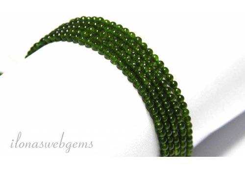 Jade beads mini app. 2.5mm