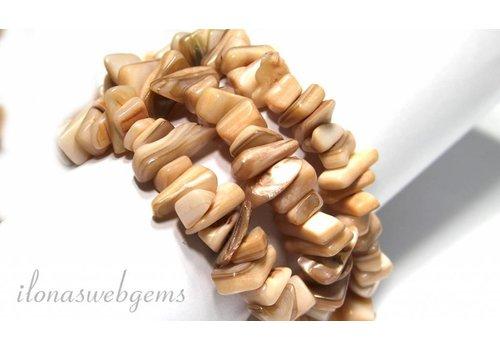Split pearl beads around 8-10mm