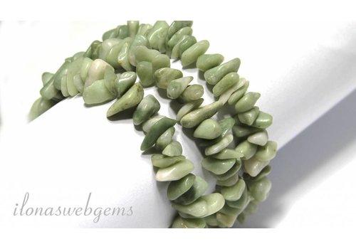 Jade kralen split ca. 5-8mm