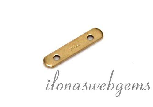 Goldfilled Verteiler 2. Reihe ca. 11x2.3x0.4mm
