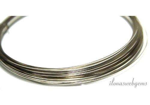 Silverfilled draad vierkant normaal ca. 0.5mm / 24GA