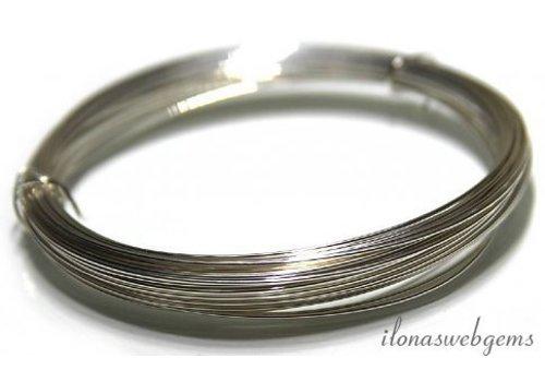 Silverfilled draad half hard ca. 0.6mm / 22GA