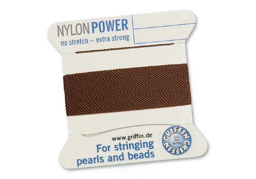 BROWN: Griffin Rijgdraad Nylon