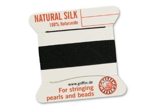 BLACK: Griffin silk thread