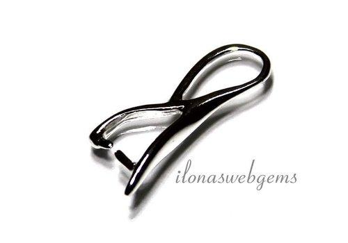 1 Sterling Zilveren bail/hanger clasp