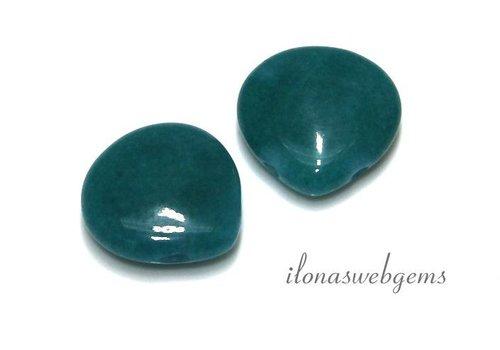 1 paar Jade druppels