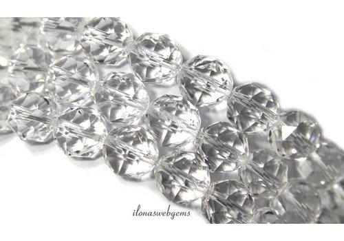 Strass facettierten Perlen rund ca. 12mm