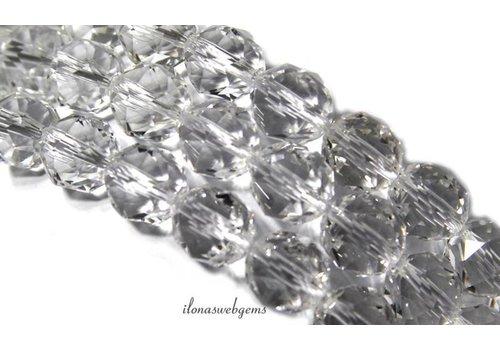 Strass facettierten Perlen rund ca. 10mm