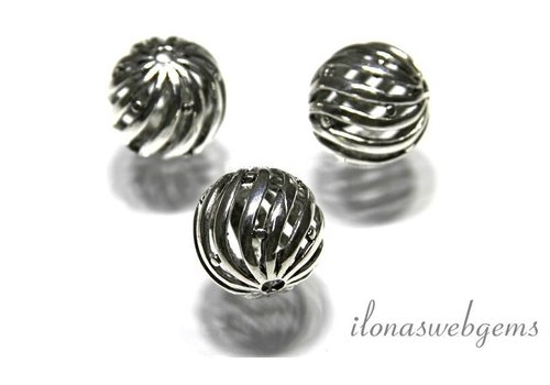 2 pieces Pewter bead
