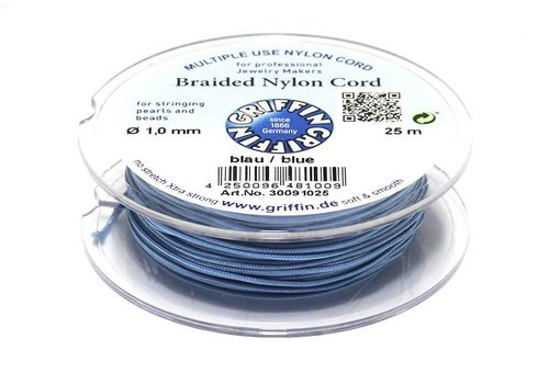 Griffin nylon cord blue 25m