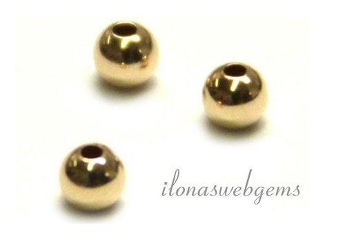 10 Karat Goldperle ca. 2mm leicht