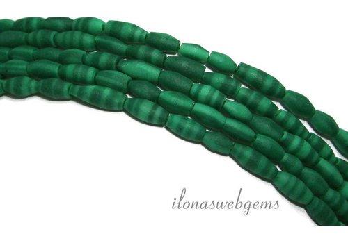 Tibetan Malachiet beads app. 3x6mm