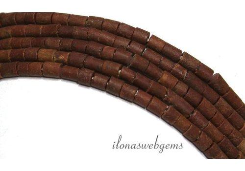 Tibetaanse Jaspis kralen mini ca. 3x3-4mm