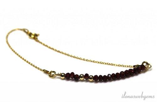 Inspiration minimalist bracelet Vermeil