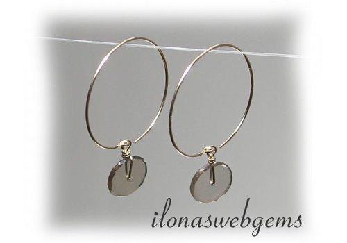 Inspiration earring pendants goldfilled