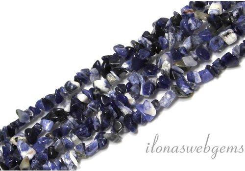 Sodalite beads split approximately 7mm