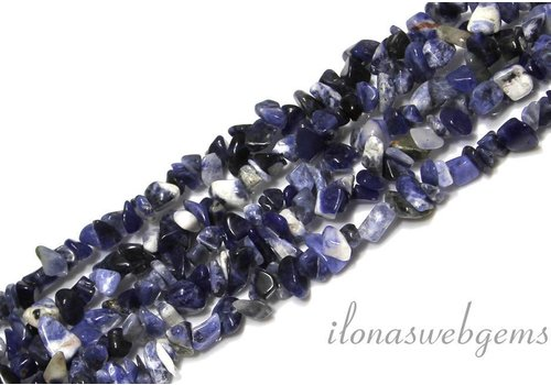 Sodalith Perlen gespalten ca. 7mm