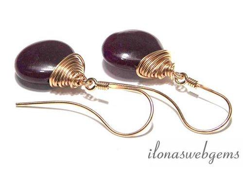 Inspiration: Rose gold filled earrings