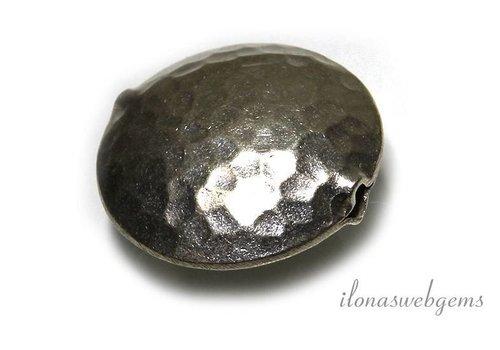Hill Stamm Sterling Silber Perle gehämmert