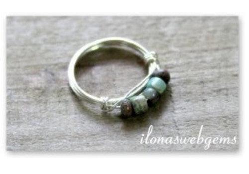 Inspiratie minimalistische ring sterling zilver