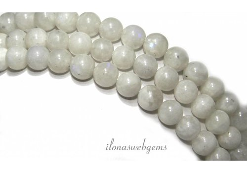Moonstone beads round about 6mm