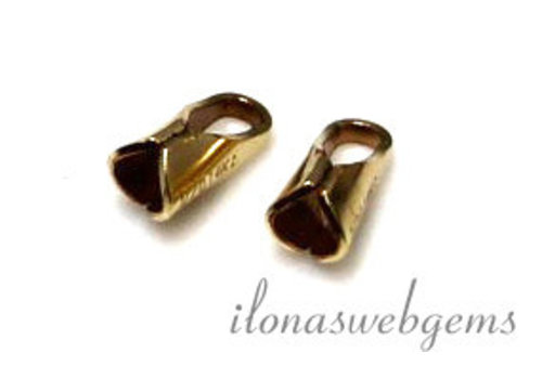 14k/20 Gold filled eindkapje 1.5mm