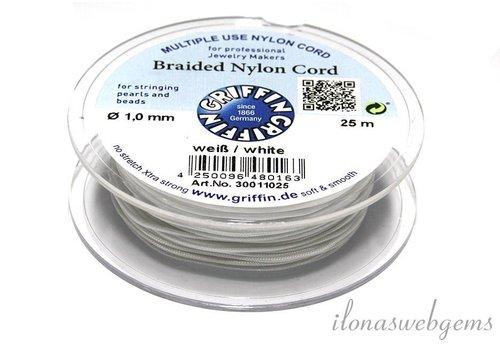 Griffin nylon cord white