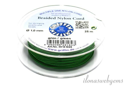 Griffin green nylon cord