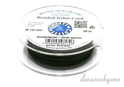 Griffin nylon cord dark green