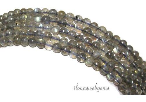 Labradorite beads around AA quality around 4.5mm