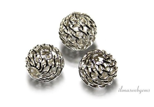 Sterling silver bead approximately 7mm
