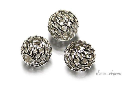 Sterling zilveren kraal ca. 7mm