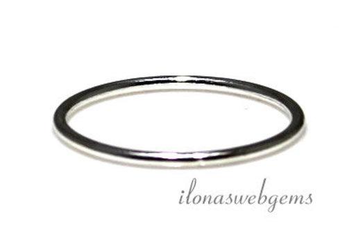 Sterling Silber Ring 15mm