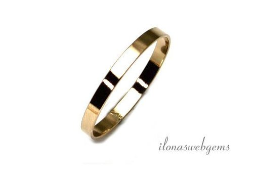 14K/20 Gold filled ring 18.5x2.5mm