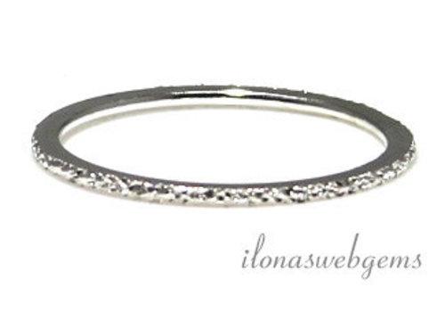 Sterling Silber Ring Sternenstaub
