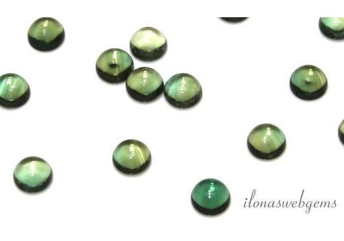 Glass cabochon 6mm