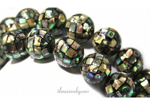 Abalone beads approx 18mm