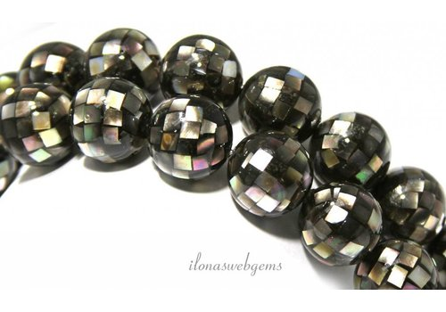 Abalone beads approx 16mm