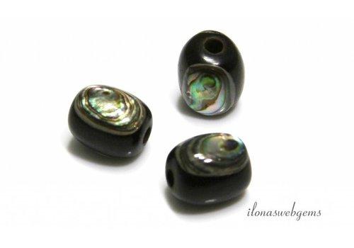 Abalone Perle ca. 12x10mm