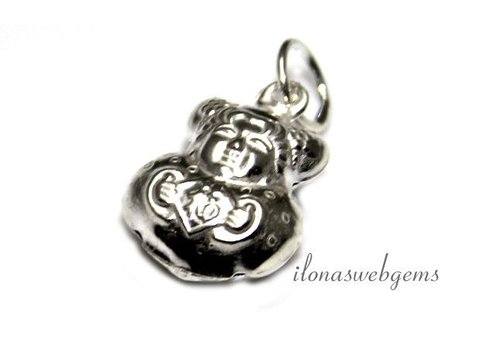 Sterling silver charm Buddha - Copy