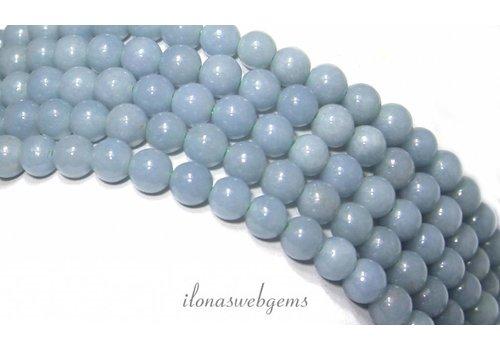 Angelite beads around 6mm