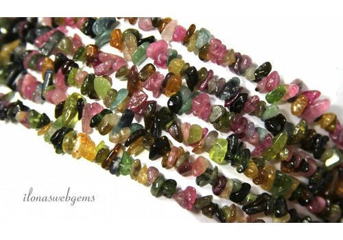 Tourmaline beads split fine around 6mm